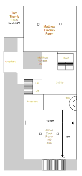 Chifley Plaza Townsville Conference Floor Plans