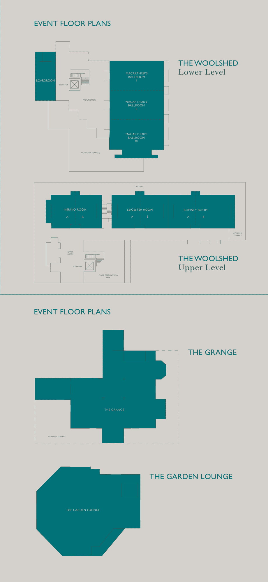 InterContinentalSanctuaryCoveResort ConferenceFloorPlans