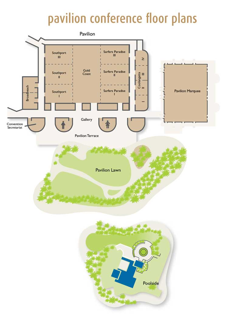 Jupiters Hotel Casino Conference Floor Plans