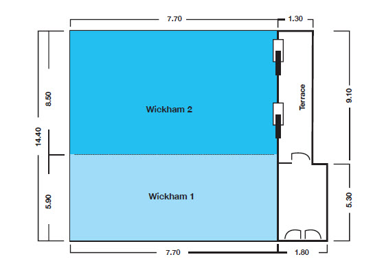 Watermark Brisbane conference floor plans