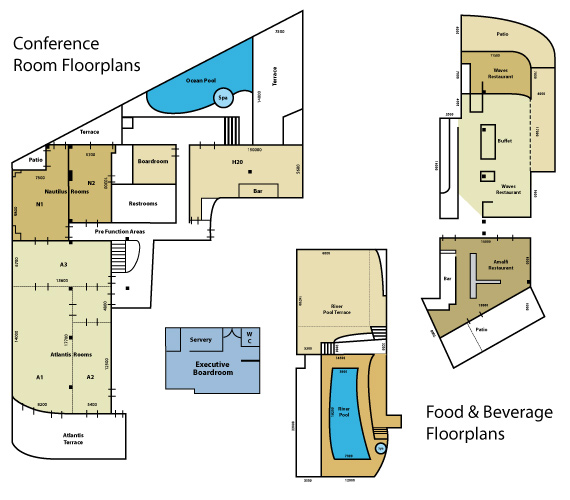 Watermark Hotel Conference Floor Plans